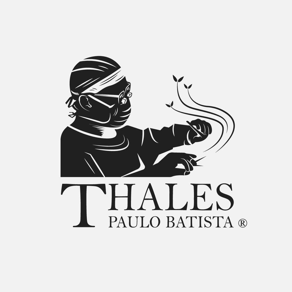 bad logo design of Thales Paulo Batista