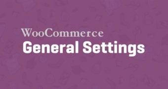 WooCommerce General Settings Screen