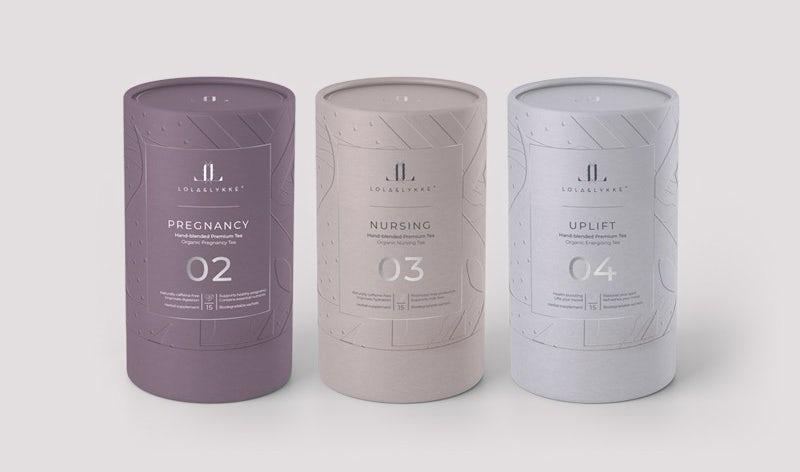 Packaging design trends 2020 example: Lola & Likke Tea packaging