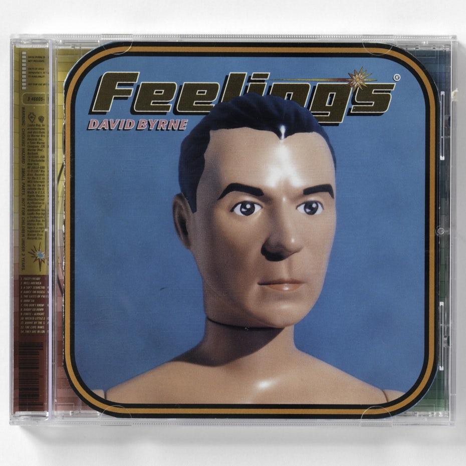 David Byrne Feelings album cover