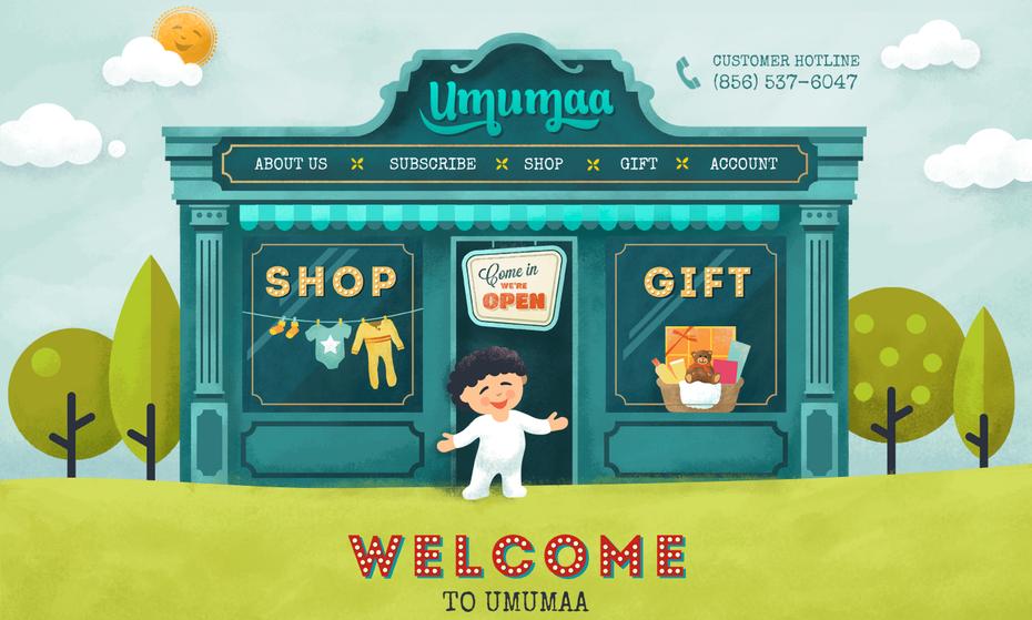Umama website