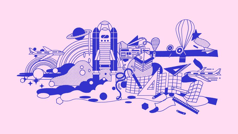 Voyageur illustration