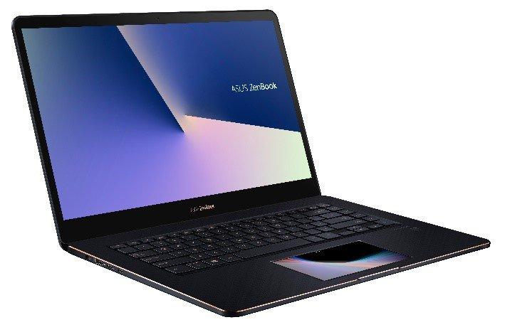 The Asus ZenBook Pro 15 UX580.