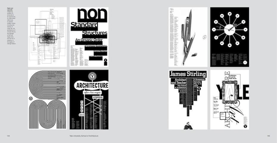 Michael Bierut poster designs