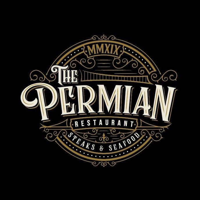 vintage restaurant logo with handmade font