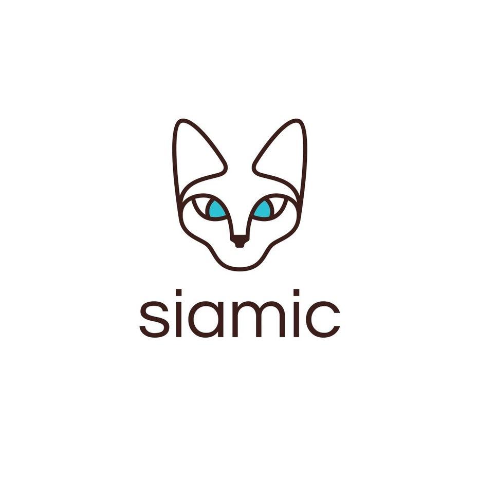 Logo design for siamic