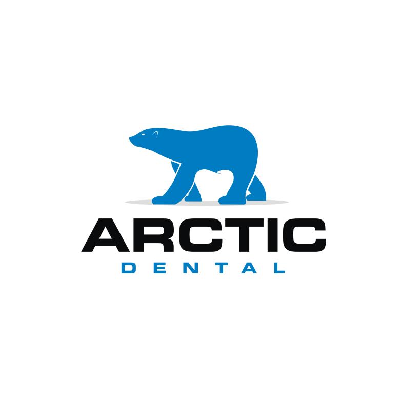 polar bear dental logo