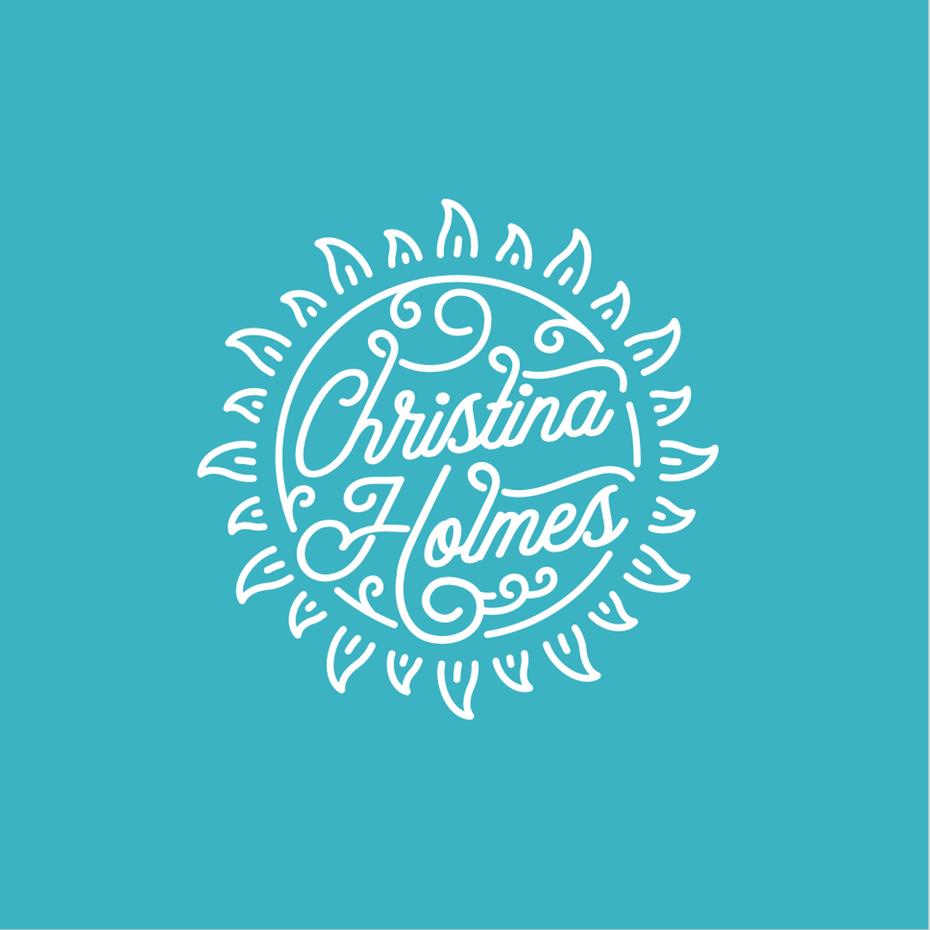 Christina Holmes musician logo