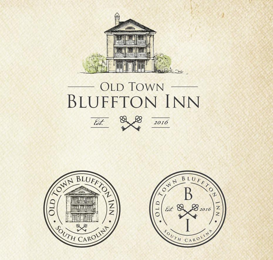 logo design for Old Town Bluffton Inn