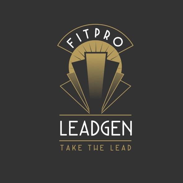 An art deco logo design
