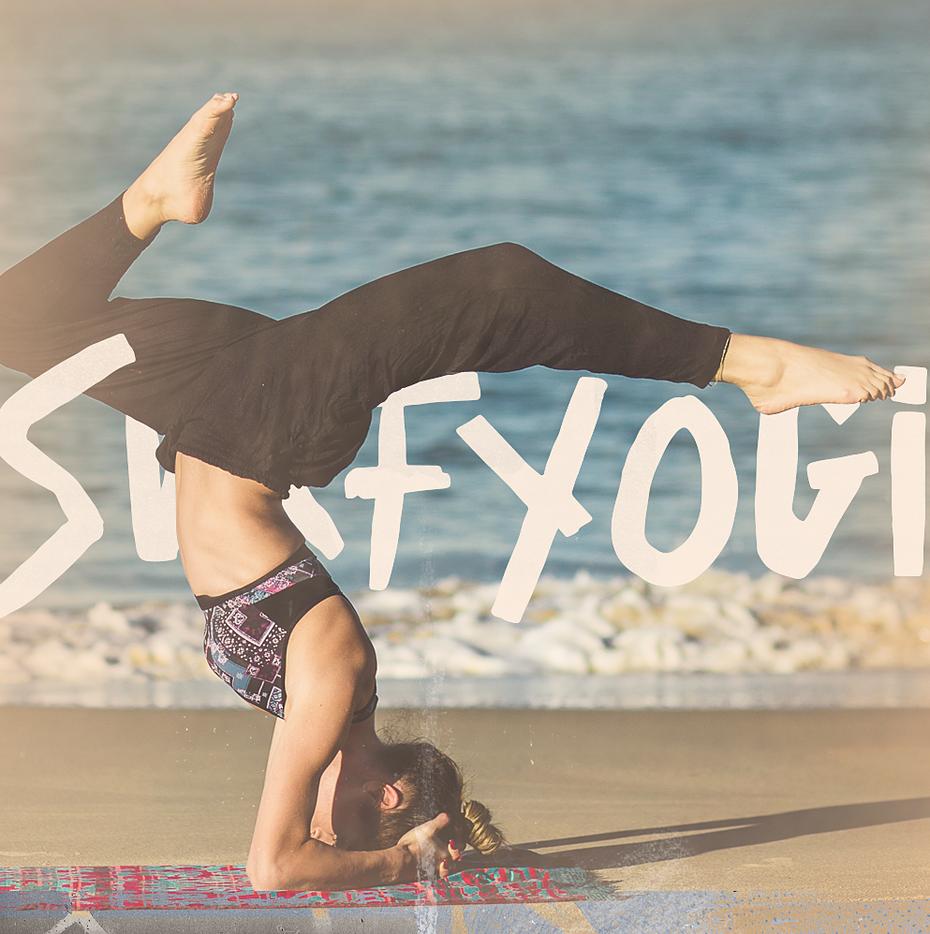 surf yogi brand identity