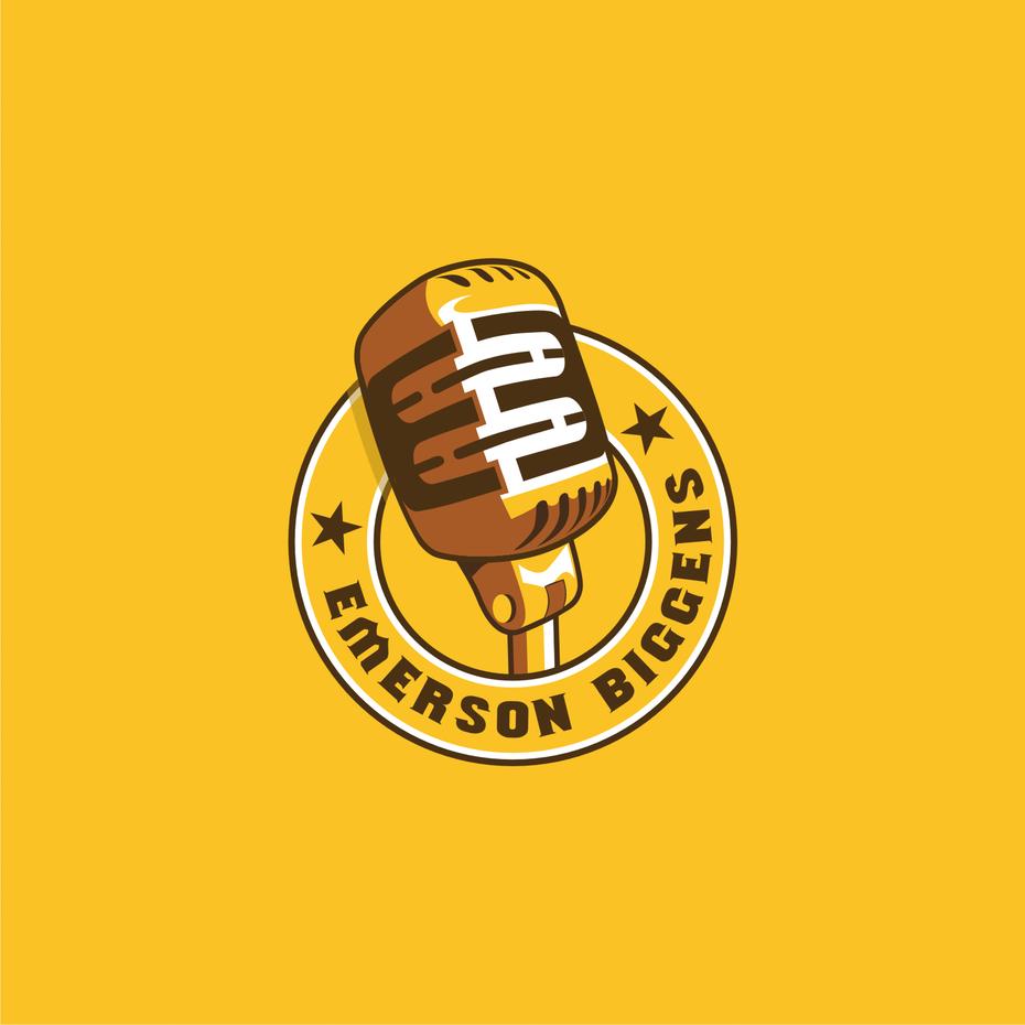 Emerson Biggens musician logo