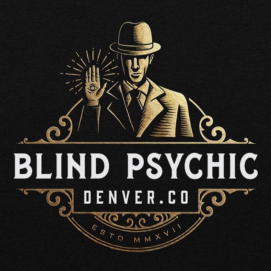 Blind psychic logo