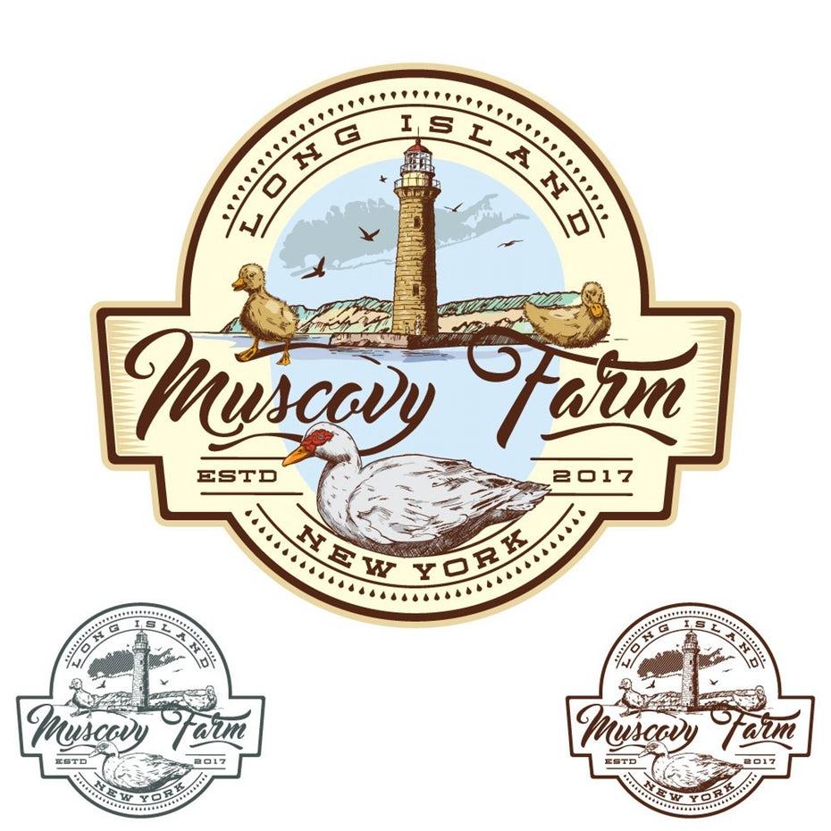 Muscovy Farm logo