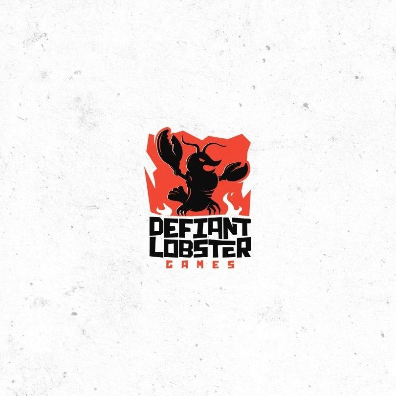 A defiant lobster