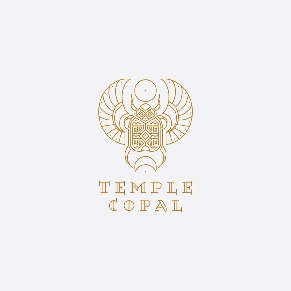 Temple Copal logo