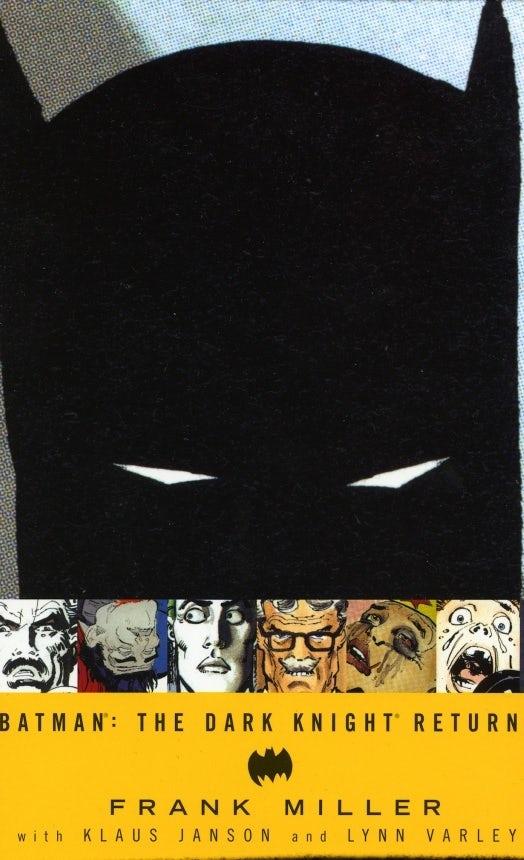Batman: The Dark Knight Returns cover design