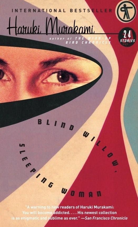 Blind Willow Sleeping Woman Haruki Murakami book cover design
