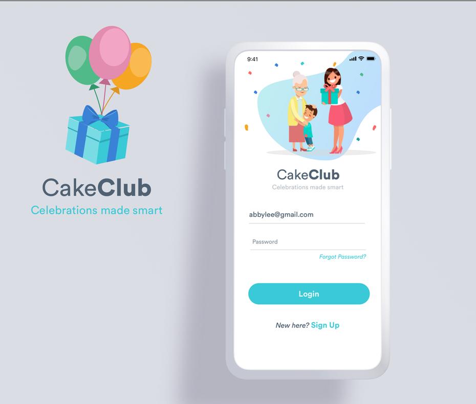 Educational app design in flat style
