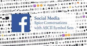 Google Gmail Twitter Facebook ASCII Symbols Conversations