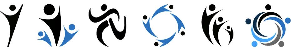 generic logo examples of V-man