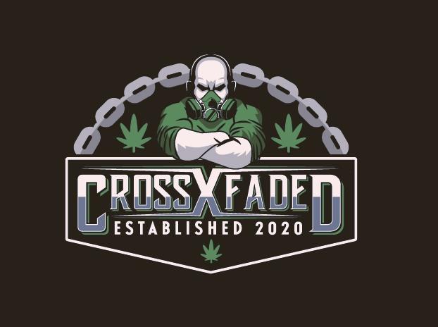 bad logo design of Cross Faded