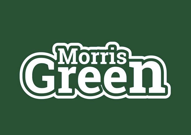 bad logo design of Morris Green