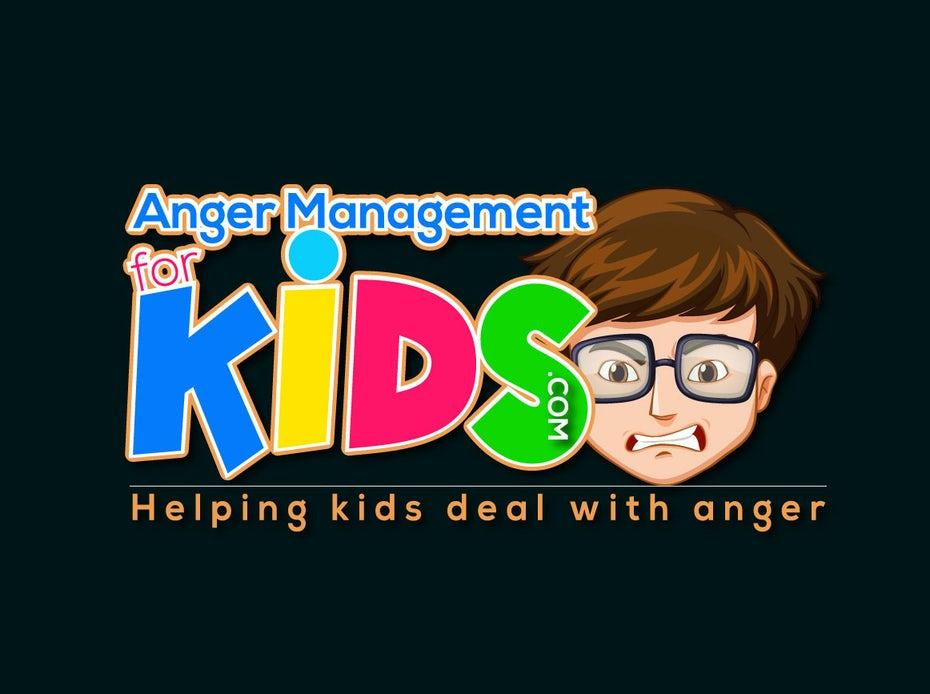 bad logo design of Anger Management for Kids