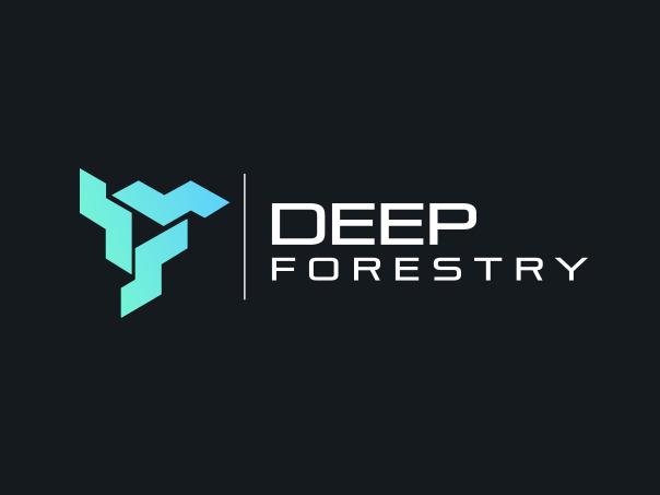bad logo design of Deep Forestry