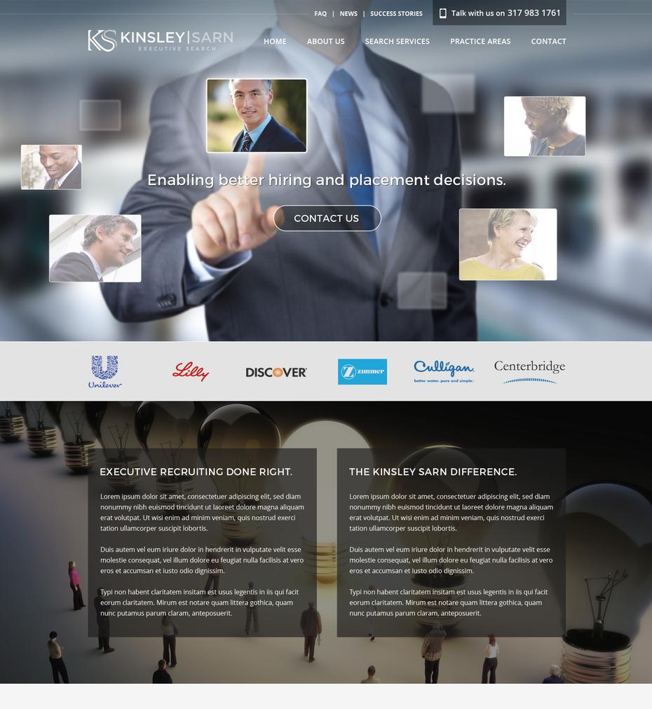 hiring Squarespace website design