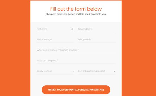 Set up multiple unique contact forms