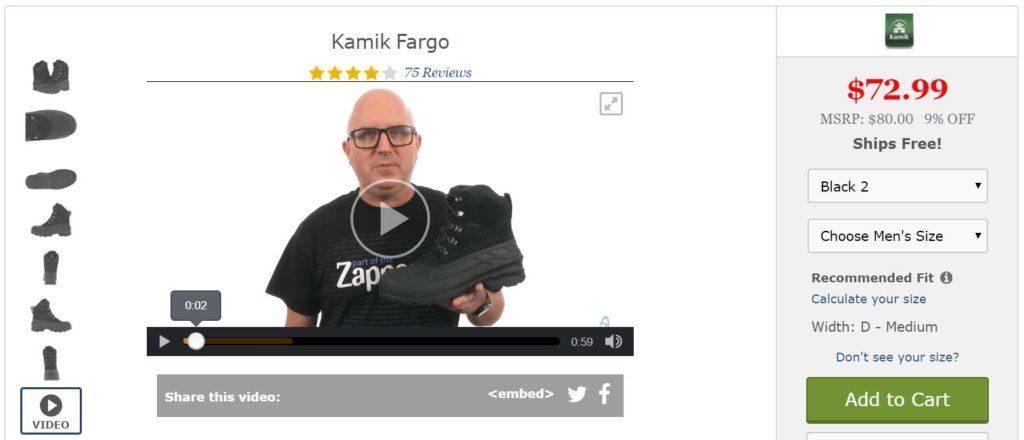 ecommerce visual content